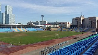 Kazhymukan Munaitpasov Stadium (Astana) - Image: Стадион имени Мунайтпасова