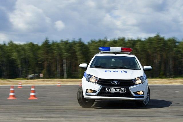 Вариант LADA Vesta для военной автоинспекции
