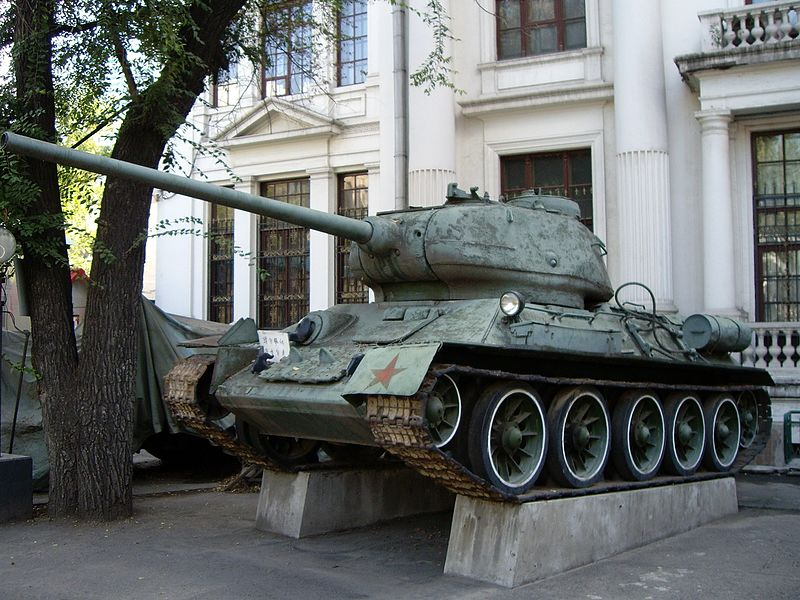 T-34-85 in Chinese service - Credits : Hayate - wikipedia commons