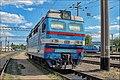 Электровоз ВЛ40У-1457-2 на запасных путях ТЧ-4 Жмеринка. - panoramio.jpg