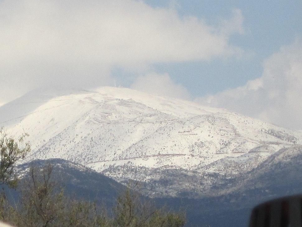 הר החרמון - Mount Hermon 0251