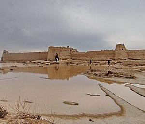 Mount Khajeh - Rostam castle on Mt Khajeh