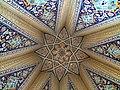 سقف آرامگاه بابا طاهر عریان.jpg
