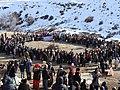 هر سال در وسط زمستان ۱٥بهمن مراسم بیلندانا در محوطه قلعه سهولان برگزار میشود.jpg
