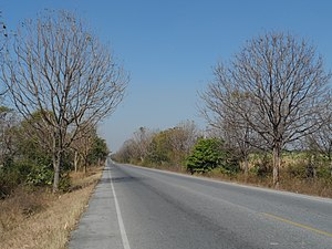 Lao Khwan District - Road 3306, tambon Lao Khwan