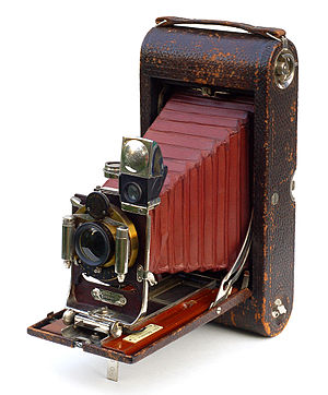 Shutter (photography) - 1869 Pocket Kodak, which contained a rotating shutter.