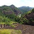 天游峰后山路 - Stairs on the East Side of Tianyou Peak - 2015.07 - panoramio.jpg