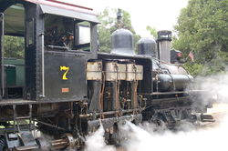 No. 7 Sonora Class C Shay Roaring Camp and Big Trees Railroad, Felton, California