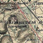 01869 Krakus-Hügel, Franzisco- Josephinische Landesaufnahme (1809-1869).jpg