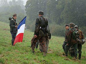 03 Reenactment of Battle in 1944 at Pielnica valley (Nowosielce, Sanok County).jpg