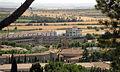 041 Campanar de Fàtima i fàbrica Trepat, des de Sant Eloi.jpg