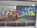 1030 Krummgasse 5 - Mosaik Flötenspielerin von Alfred Kornberger 1968 (3) IMG 8664.jpg