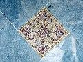 109 Hospital de Sant Pau, edifici d'Administració, sala d'actes, mosaic del terra.JPG