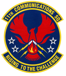 11 Communicatons Sq emblem.png
