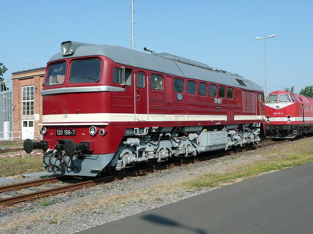 120 198 Ausbesserungswerk Dessau