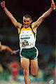 141100 - Athletics track relay Tim Sullivan finish - 3b - 2000 Sydney race photo.jpg