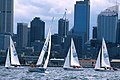 141100 - Sailing Australia 3 person keelboat action 5 - 3b - 2000 Sydney race photo.jpg
