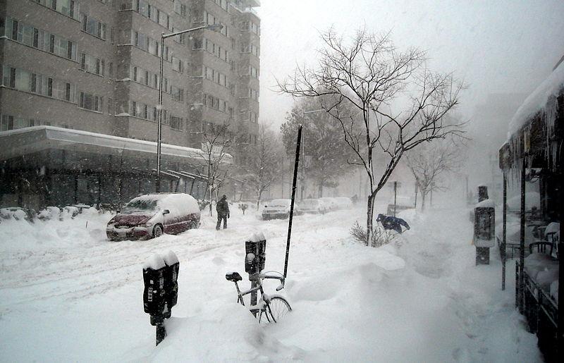 File:1500 block of 19th Street, N.W. - February 10, 2010 blizzard.JPG