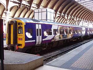 Regional rail - Northern Rail Class 158 at York station