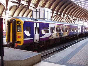 Regional rail - Northern Rail Class 158 at York station