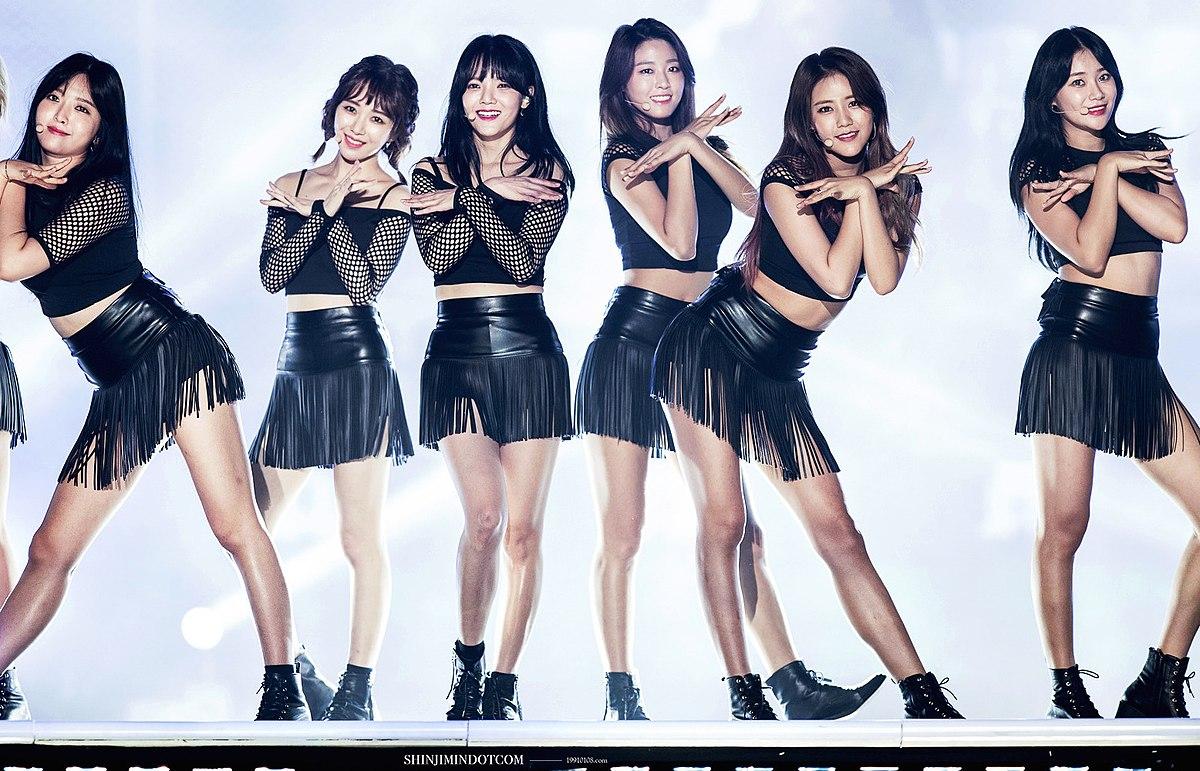 Personil girl band tersexy di korea