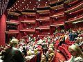 18. Bucuresti, Romania. Sala mare a Teatrului. Ocuparea locului inainte de spectacolul cu Fuego. 3 Aprilie 2017.jpg
