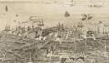 1850 Wharves BirdsEyeView Boston byJohnBachmann.png
