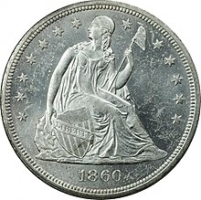 1860-O Seated Liberty dollar obverse.jpg