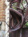 187 Pavellons de la finca Güell, av. de Pedralbes 15 (Barcelona), drac de la reixa d'entrada.jpg