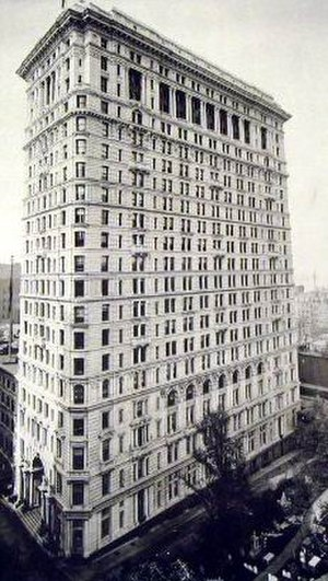 Empire Building (Manhattan) - Image: 18981015.NYC.Empire Building, Broadway and Rector St.d.Kimball and Thompson