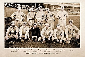 1898 Baltimore Orioles season - The 1898 Baltimore Orioles