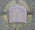 1898 Plaque at Water Treatment Works - geograph.org.uk - 463599.jpg