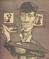 1904 - Caricatura a lui Stefan Luchian aparuta in revista Furnica.png
