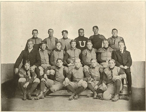 The 1905 Utah football team 1905 Utah football team.jpg