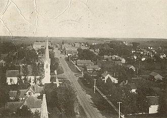 Blooming Prairie, Minnesota - Blooming Prairie circa 1905