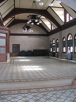 Salisbury station (North Carolina) - Image: 1908 Salisbury Railway Passenger Station ncecho 747012