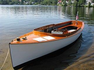 Launch (boat) open motorboat