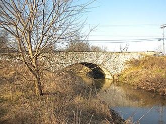 County Bridge No. 148 - County Bridge No. 148, December 2009
