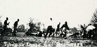 1921 Georgia Bulldogs football team - Vanderbilt tying the score