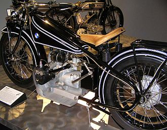History of BMW motorcycles - BMW's opposed engine and transmission unit in an R 32