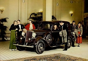 Dodge - Dodge aimed for the luxury market in this advertisement for the 1933 models