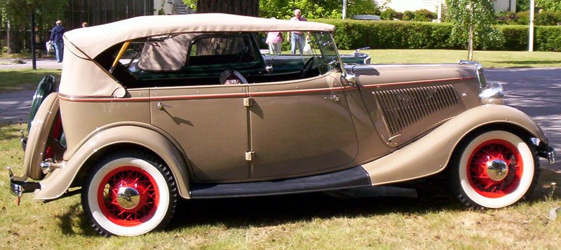 1934 ford model 40 750 De Luxe Phaeton