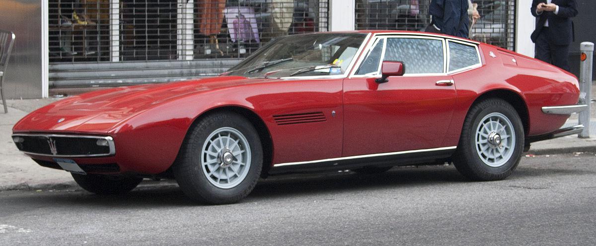Maserati Ghibli –