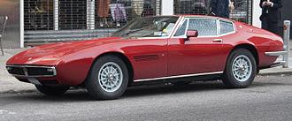 Giorgetto Giugiaro - Maserati Ghibli.