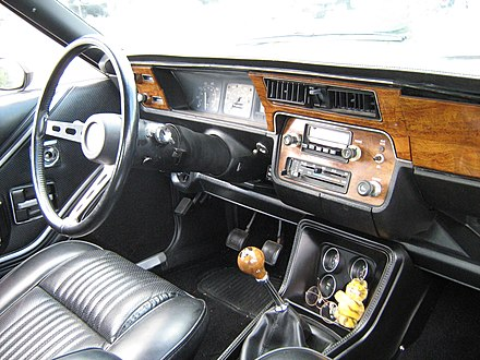 Standard interior with GT package included center console &quotRallye&quot gauges - AMC Spirit