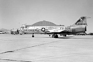 197th Air Refueling Squadron - 197th Fighter-Interceptor Squadron F-104A 56-0906 about 1961