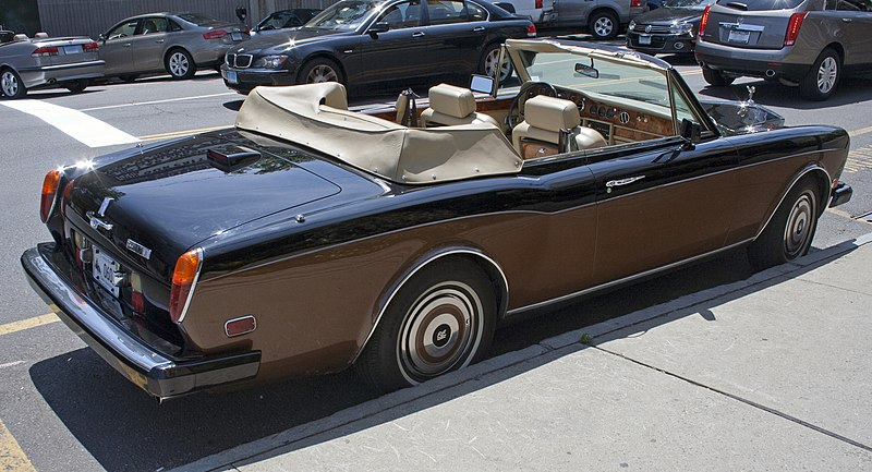1986 RR Corniche II rear.jpg