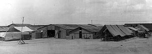 Columbus Municipal Airport (New Mexico) - The 1st Aero Squadron's facilities at Columbus, New Mexico, 1916