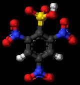 2,4,6-Trinitrobenzenesulfonic acid molecule