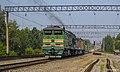 2ТЭ10М-3073, Россия, Томская область, станция Предтеченск (Trainpix 176072).jpg